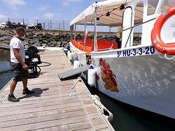 Impresionante barco disney