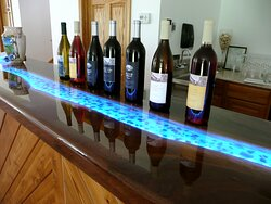 """The """"River Tasting Bar"""" at Silver Crest Cellars"""
