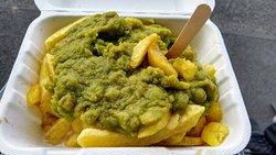 Chips & Mushy Peas