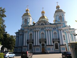 Николо-Богоявленский Морской собор, Санкт-Петербург.