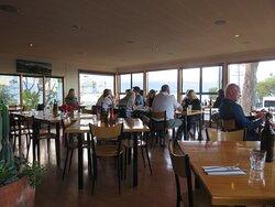 Open outlook at Green Dolphin Restaurant