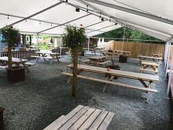 Bryn Arms Marquee 2020