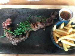 Fab steak and service