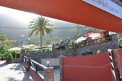 Entrada a nuestro Parque Etnográfico y terrazas