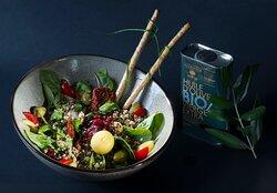 La salade Bolivienne aux cranberries - le bowl des bienfaits pour la santé!