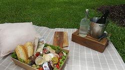 Good food and beautiful gardens