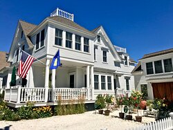 Enjoy the main house and carriage house at the White Porch Inn.