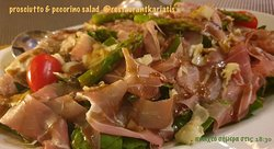 Fresh gourmet salads