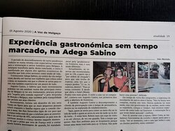 #adegasabino #boacamaboamesa #revistadevinhos #melgaco