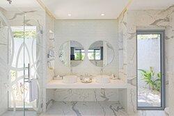 Beach Villa Bathroom Interior