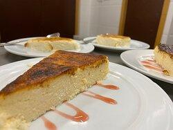 Nuestra tarta de queso