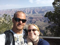 Us at Grand Canyon.