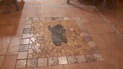 La particolarità della pavimentazione