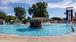 Nice  accommodations and pool