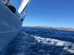 Perfect sailing week