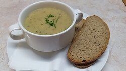 Our soup is made fresh and we offer different soups every day