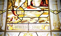 Othello's stained window