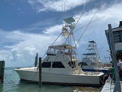 Hound Dawg Charters out of Islamorada Florida