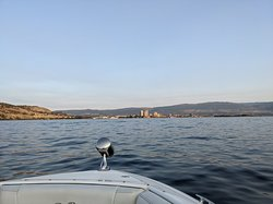 View from the boat.