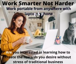 Portable Business Opportunity from anywhere in the world from laptop and phone. #FullTraining #UnlimitedIncomePotential #SimpleSystem  www.SuzetteLundberg.com fill in form to learn more.