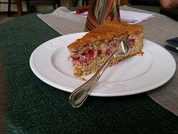 johannisbeer kuchen, nicht zu süß, lecker!!!!