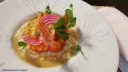 Risotto aux Gambas