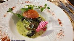 Brioche aux escargots de Bourgogne