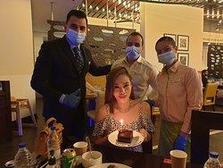 Celebrating Marian's Birthday