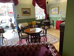 Our Georgian Coffee House space for enjoying our delicious beverages or our food offering.
