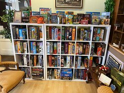 Just some of the 400 games available to play from our games library.
