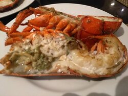 One lobster for you. Lobster Buffet at The Rain Tree Café @ The Athenee Hotel