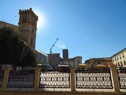 Piazza del Popolo, vista dalla chiesa di Sant'Agostino
