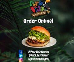 Pura Vida Bar & Lounge🍹 See our menu & Order Online 👇👇👇 https://bit.ly/Puravidamenu