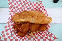 fish & chips with shrimps