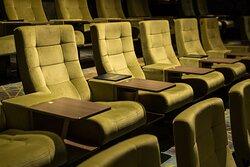 Ruime en luxe fauteuils