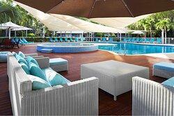 Pool furnishings, Seashells Broome