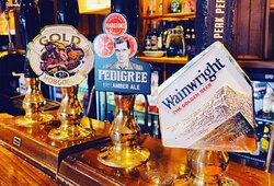 🍻 Look at that for a line up! 🍻   We have some amazing Cask Ales on this week!  ⭐️ Wainwright's ⭐️ Pedigree ⭐️ Hobgoblin Gold  #WeAreMarstons #CaskAles #SupportYourLocal