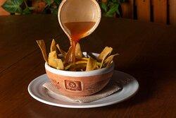 Sopa de Tortilla / especialidad de la casa
