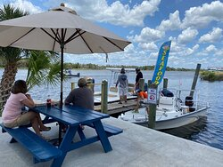 Come dine on the water with us.