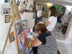 Clases de dibujo y pintura para todas las edades. Drawing and painting lessons for all ages.695 122 532