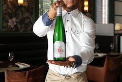 Witte wijn van de Appostelhoeve