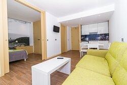 Apartamento de una habitación.