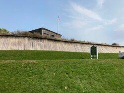 Fort Holmes- worth the walk