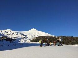 Increíble día de Randone en el volcán Villarica
