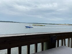 Great food....right on the water!
