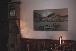 Restaurant by the lake Lac de Joux