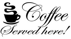 Fantastic selection of Coffee and Tea served all day