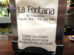Bar La Fontana Logroño Calle Laurel