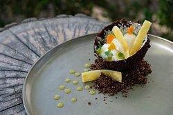 Dessert: Ananas & Kokos