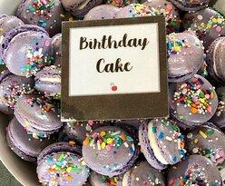 Birthday Cake French macarons